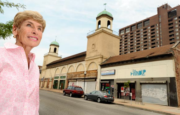 Carolyn Frenkil, co-owner of North Avenue Market