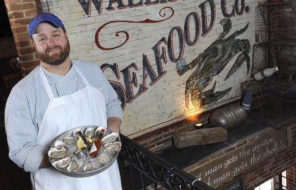 Patrick Morrow, Ryleigh's Oyster chef