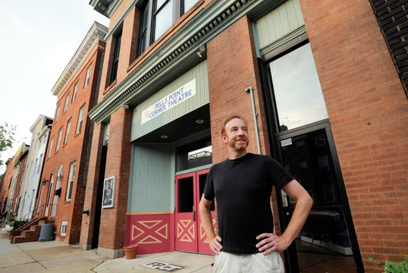 Playwright Rich Espey at Fells Point Corner Theatre