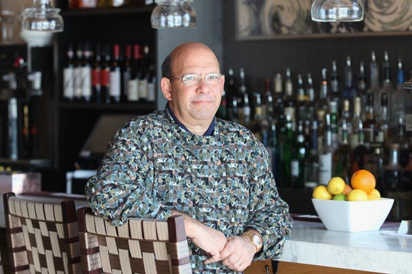 Charles Nabit, co-owner, Waterfront Kitchen. Photo by Arianne Teeple