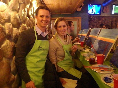 Paint Nite at Hightopps