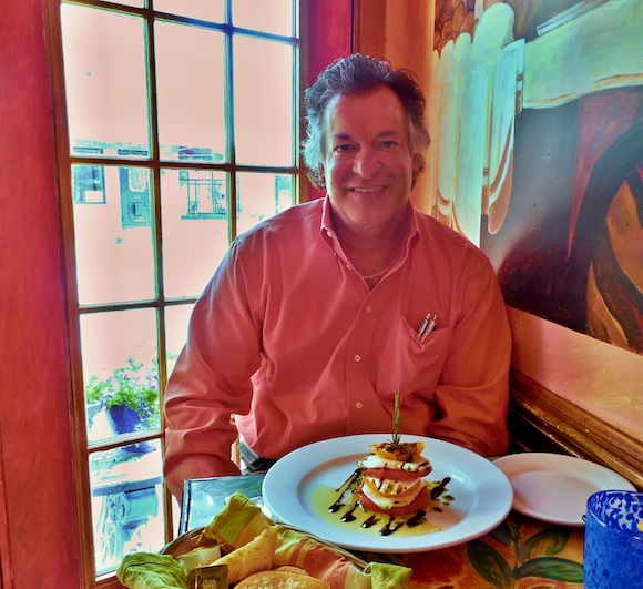 Tom Iacoboni at Cafe Gia