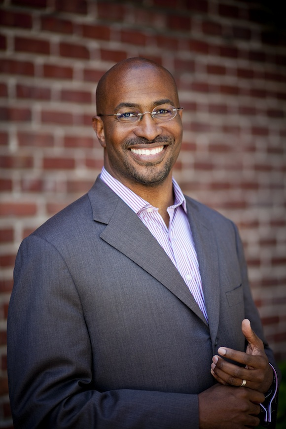 Van Jones, co-host of CNN's 'Crossfire